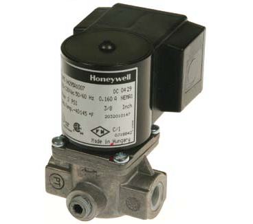 "Honeywell V4295A1114 Solenoid Valve 120V Normally Closed 5psi 3/4"" NPT"
