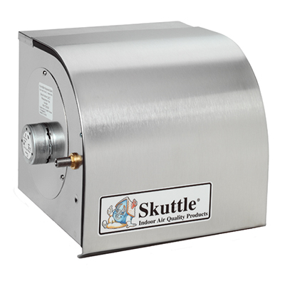 Skuttle 90DRUM High-Capacity Stainless Steel Bypass Drum Humidifier