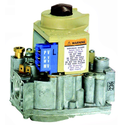 Honeywell VR8204A2076 24V Intermittent Pilot Natural Gas Valve