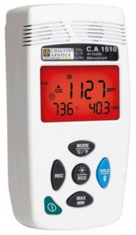 AEMC 2138.09 C.A 1510 Indoor Air Quality Monitor/Datalogger, White