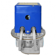 """Maxitrol MR212J-2-3232 4"""" Negative Pressure Selectra Modulating Valve with 2-Speed Dual Fuel and Flanged"""