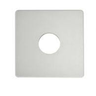 """Automated Logic ALC/ADP-53-53-OFW Wall Adapter Plate 5.3""""X5.3"""" Off White"""