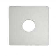 "Automated Logic ALC/ADP-53-53-WMW Wall Adapter Plate 5.3""X5.3"" Warm White"
