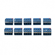 Johnson Controls AP-TBK4FC-0  Replacement MS/TP FC Bus Terminal, 4 Position Connector ( Pack of 10 )