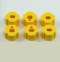 Robertshaw 4590-604 Slip-Fit Dial Knobs Yellow (Case of 6)